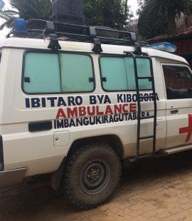 Kibogora hospital - New Ambulances