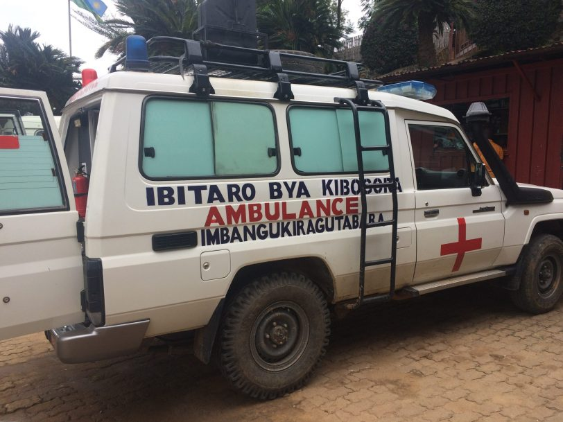 Kibogora hospital - New Ambulances